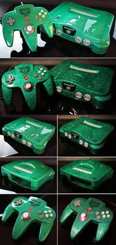 Custom Zelda Nintendo 64
