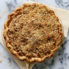 Bourbon Pear Crumble Pie | Joy the Baker