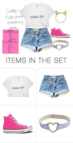 """Bbg "" by daddysharleyquinn ❤ liked on Polyvore featuring art, ddlg, littlespace and cgl"