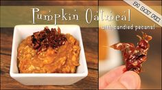 21 Day Fix: Pumpkin Oatmeal with Candied Pecans is perfect for a brisk fall morning. Pair it with your favorite cup o' joe and enjoy. Funky Monkey Shake Chocolate Covered Almonds Shake 21 Day Fix:. Pumpkin Pie Oatmeal, Pumpkin Spice Latte, Cheesecake Cups, Chocolate Cheesecake, 21 Day Fix Breakfast, Chocolate Candy Recipes, Jelly Cookies, Sugar Free Sweets, Chocolate Covered Almonds