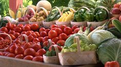 Fresh and colorful produce grown at a Kentucky farm near you!