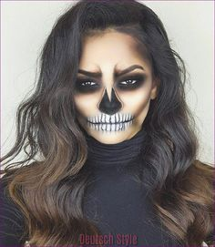 Jour de la mort de Maquillage – les Idées en Photos et Tutoriels Vidéo - 30 | Halloween approche à grand pas, ce qui signifie que notre Site Vous le meilleur Inspirationsideen pour Halloween Costumes et le Maquillage pour tous, les Vacances sont possédés par affiche. #maquillageinspiration #maquillagehacks
