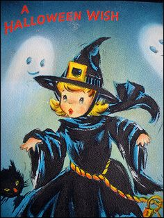 Thumbs up halloween - no text - get witch - ghost on left in shot? Retro Halloween, Vintage Halloween Images, Halloween Eve, Halloween Wishes, Halloween Greetings, Halloween Painting, Halloween Prints, Halloween Pictures, Happy Halloween