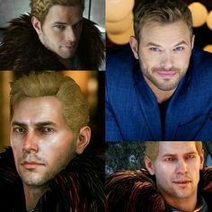 Kellan Lutz as Cullen Rutherford Dragon Age Inquisition