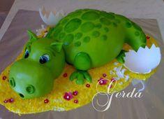 Adorable hippo bday cake!