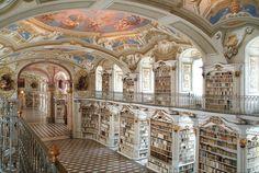 Biblioteca do Monastério de Admont, Áustria