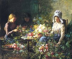 Galerii de arta: Abbott Fuller Graves (15 aprilie 1859–15 iulie 1936 ), pictor impresionist american