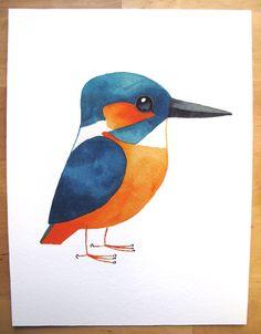 kingfisher-print