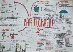 #cartografia #geografia #resumo