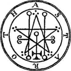 Asteroth Sigil from Lesser Key of Solomon Goetia Grimoire Demon Symbols, Mystic Symbols, Occult Symbols, Occult Art, Ancient Symbols, Symbole Protection, Protection Symbols, Summoning Circle, Sigil Magic