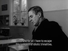 movie quotes from the film Winter Light by Ingmar Bergman Famous Movie Quotes, Film Quotes, Book Quotes, Horror Quotes, Cinema Quotes, Tumblr Movie, Citations Film, Ingmar Bergman, Aesthetic Words