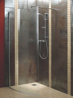 Aquadry Walk-in Shower Screen In 2019 Bathroom Layout Plans, Master Bathroom Layout, Bathroom Floor Plans, Bathroom Ideas, Toilet And Bathroom Design, Bathroom Interior Design, Small Bathroom, Family Bathroom, Wet Room Shower Screens