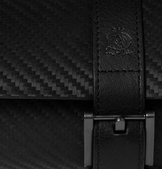 Alfred DunhillChassis Embossed - Leather Watch Roll