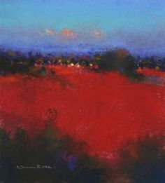 Norman SMITH - Last Reflected Light pastel