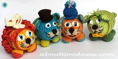 Amigurumi Crochet Cats: DIY Tutorial & Pattern