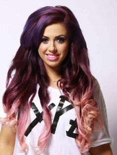 Holly Hagan: Colour Rocks! My hair is my way of expressing myself! - now http://searchcelebrityhd.com/blog/