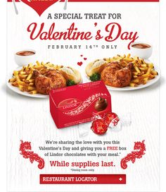 valentines day meal deal waitrose