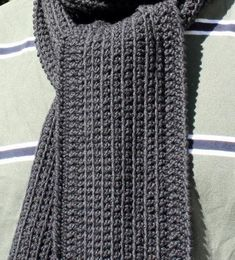 Dan's Minimalist Scarf Pattern « The Yarn Box