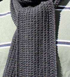 Dan's Minimalist Scarf Pattern « The Yarn Box
