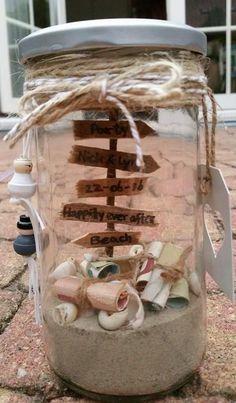 Geschenk zur Hochzeit Beach Honeymoon Flitterwochen
