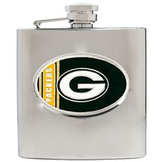 NFL 6-Ounce Stainless Steel Hip Flask $17.95