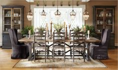 Dining Room Furniture - without 5 chandeliers