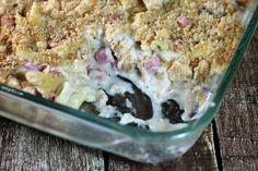 Emily Bites Weight Watchers Friendly Recipes: Chicken Cordon Bleu Pasta Bake