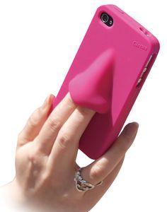 HA, HA... hana-nose-iPhone-case