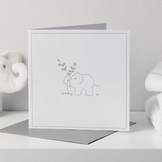 Elephant Gift Card | The White Company