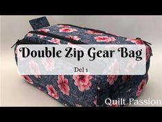 Double Zip Gear Bag - 1 - YouTube
