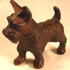 Cast Iron Animal Décor -- Scottie Dog