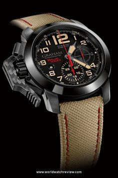 ♂ Masculine watch Graham Chronofighter Oversize Score Baja 1000 Limited Edition