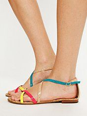summer sandals from anthro! So cute!