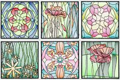 BFC-CreationsFred adds a touch of spring to his very popular Stained Glass Squares. These would be pretty on some place mats for the warmer weather.
