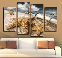 Message In A Bottle Multi Panel canvas