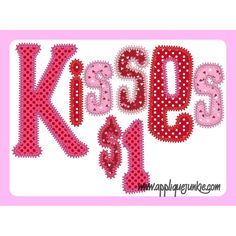Straight from the periodic table i luv you a scientific way to say kisses 1 applique design urtaz Gallery