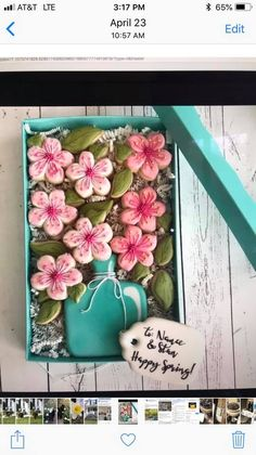 Mother's Day Cookies, Crazy Cookies, Iced Cookies, Cute Cookies, Birthday Cookies, Cookie Cake Decorations, Cookie Decorating Icing, Pie Decoration, Cookie Cake Pie