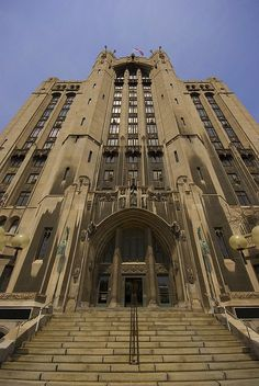The Masonic Temple Detroit, MI. Graduated from Troy, Athens High School here in 1989.