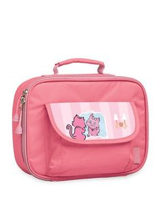 Bixbee Kitty Lunchbox  Pink