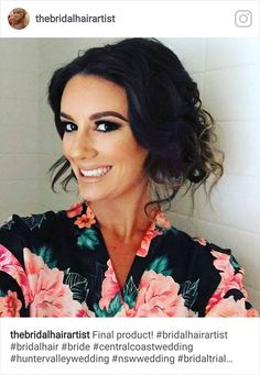 Karen - The Bridal Hair Artist www.bridalhairartist.com Instagram @thebridalhairartist Central Coast NSW Hunter Valley Wedding, Central Coast, Bridal Hair, Ruffle Blouse, Bride, Hair Styles, Artist, Instagram, Women