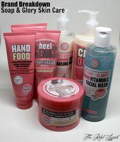 Brand Breakdown - Soap & Glory Skin Care  Full review on http;//therebellipstick.com