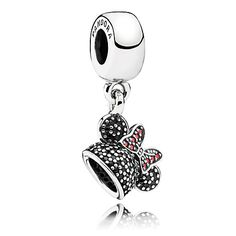 Minnie Mouse ''Minnie Sparkling Ear Hat'' Charm by PANDORA $60