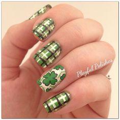 St Patty's Day #nail #nails #nailart
