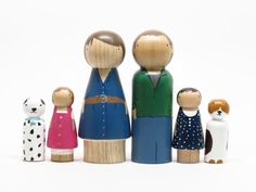 Custom families of any size - simply ingenious and a wonderful tool for children to learn role play!