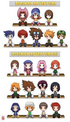 Digimon Plushies by JinZhan