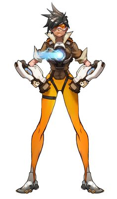 Tracer Concept from Overwatch