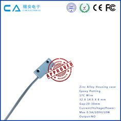 Metal Zinc alloy door magnetic contact