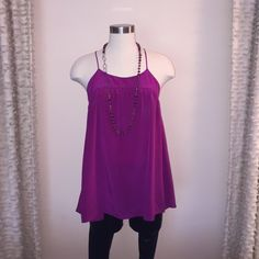 Geren Ford swing tank top size XS Geren Ford swing tank top size XS. New without tags. Never worn. Top only. Retail $150 Geren Ford Tops Tank Tops
