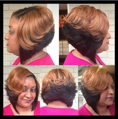 Sensational Bob Sew In Short Bobs And Sew Ins On Pinterest Short Hairstyles Gunalazisus