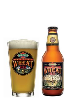 Unfiltered Wheat Beer by Boulevard Brewing Co. - Let me first say that I am not usually a fan of wheat beer. Beer Brewing, Home Brewing, Cheers, Craft Bier, Cooking With Beer, Wheat Beer, Beers Of The World, Beer Tasting, Root Beer